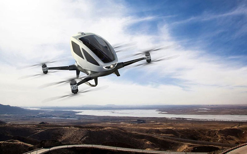 Drones Ready to Shape the Future, The Ehang 184