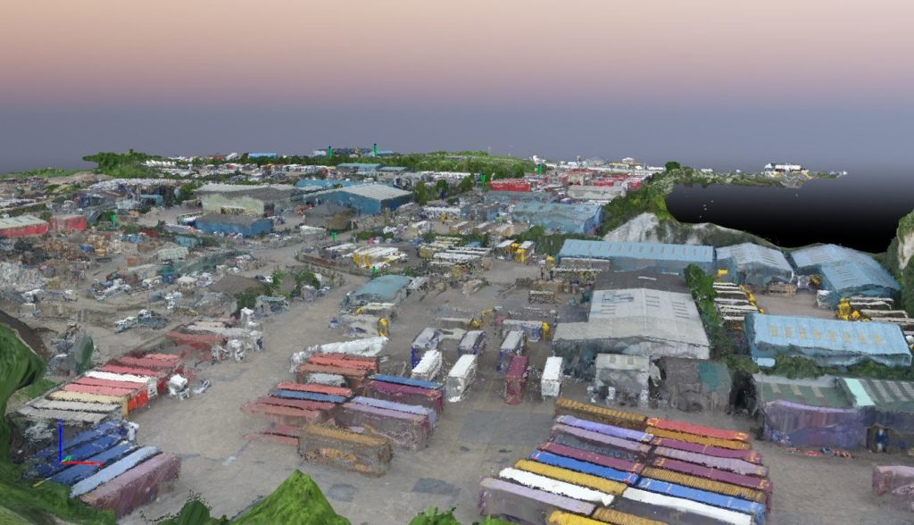 Case Study: Surveying an Industrial Site for Regeneration, Using Drones