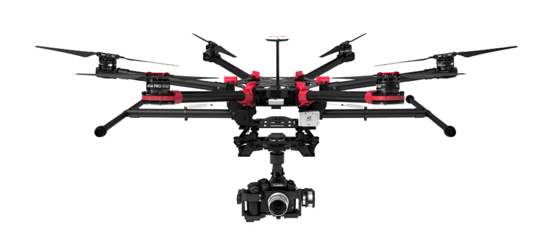 DJI S900 Hexacopter Drone with Panasonic GH4