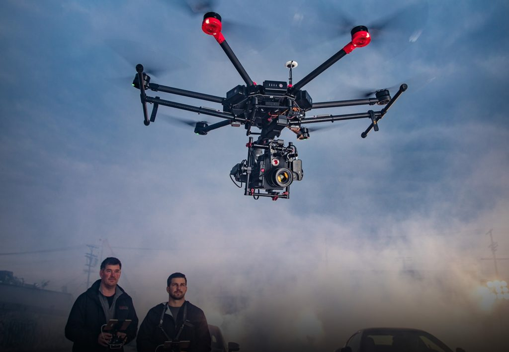DJI Matrice 600: The Go-To Drone for Hollywood Cinematographers