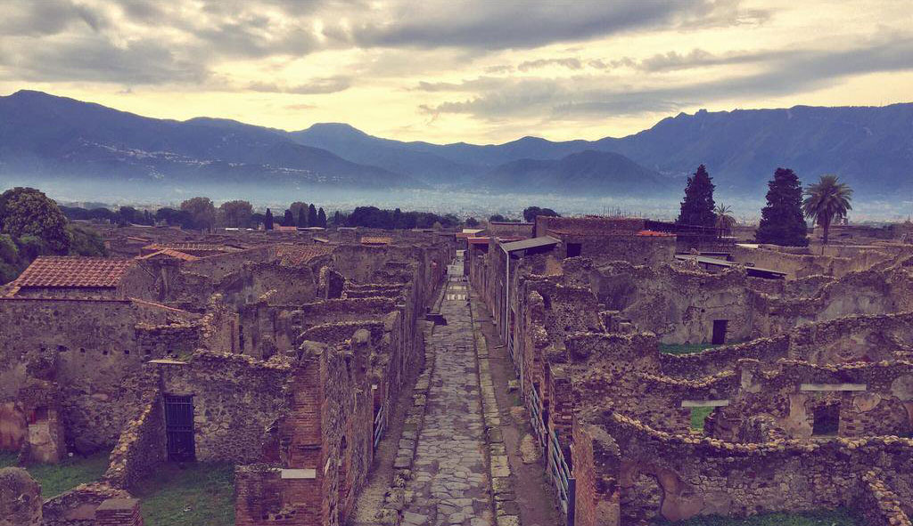 Raising Pompeii for ITV