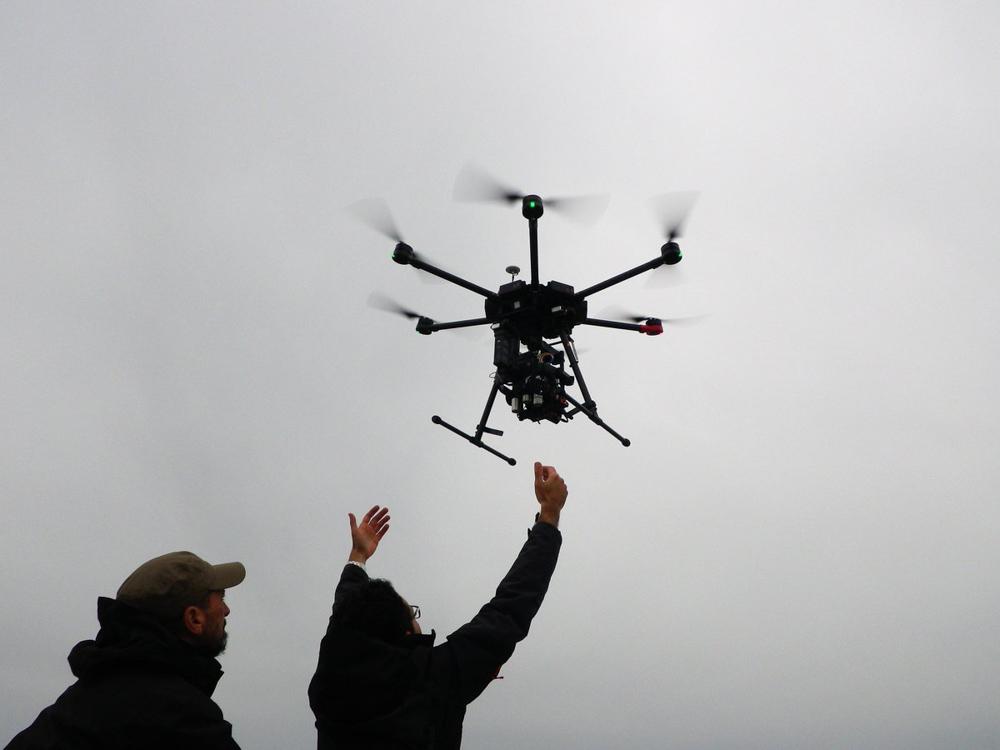 Aerial Cinematography Alexa Mini Drone Hire (Born A King)-2