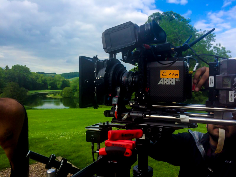 Aerial Cinematography Alexa Mini Drone Hire (Born A King)-4